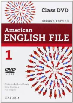 American English File Second edition Level 1 Class DVD