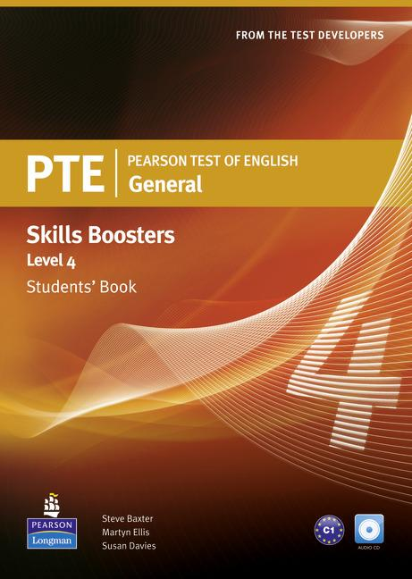 PTE General Skills Booster 4 Student Book (with Audio CD)
