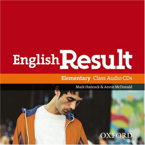 English Result Elementary Class CD's