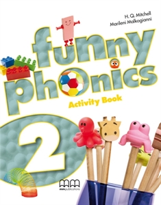 Funny Phonics 2 Activity Book with Audio CD/CD-ROM