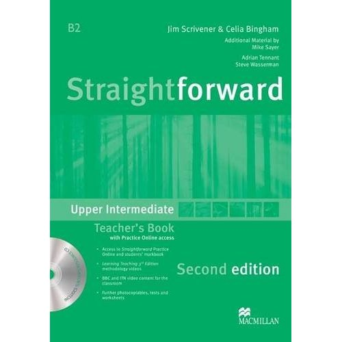 Straightforward (Second Edition) Upper Intermediate Teacher's Book Pack