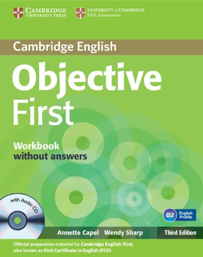 Objective First 3rd Edition Workbook without Answers with Audio CD
