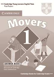 Cambridge Young Learners English Tests (Second Edition) Movers 1 Answer Booklet