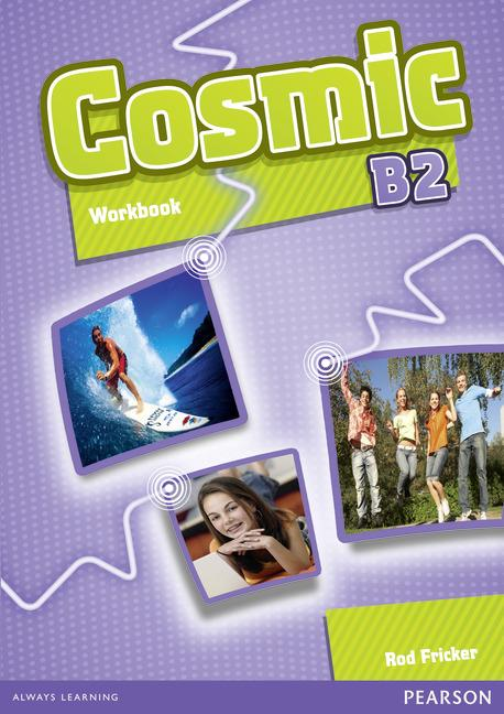 Cosmic B2 Workbook (with Audio CD)