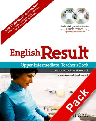 English Result Upper-Intermediate Teacher's Resource Pack With DVD