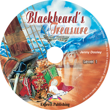 Graded Readers Level 1  Blackbeard's Treasure Audio CD