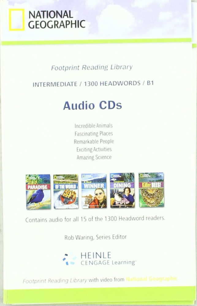 Fotoprint Reading Library B1 Audio CD (1300 words)