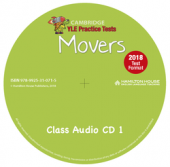 Practice Tests for YLE 2018 Movers: Class Audio CD