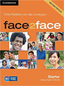 face2face 2nd Edition Starter Class Audio CDs (3)