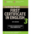 Cambridge First Certificate in English 3 for updated exam