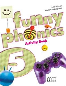 Funny Phonics 5 Activity Book with Audio CD/CD-ROM