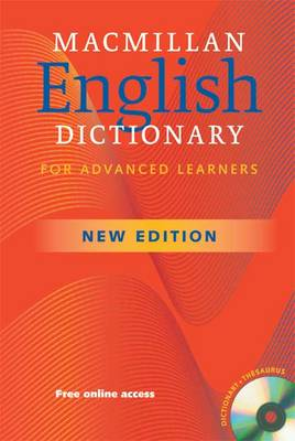 Macmillan English Dictionary for Advanced Learners (New Edition) Paperback with CD-ROM