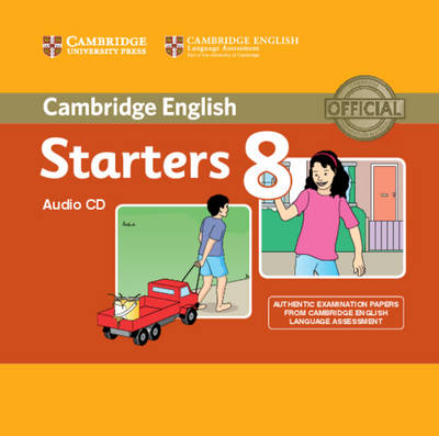 Cambridge Young Learners English Tests Starters 8 Audio CD (Лицензия)