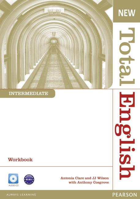 New Total English Intermediate Workbook (without Key) and Audio CD