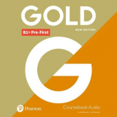 Gold New Edition B1+ Pre-First Class Audio CDs
