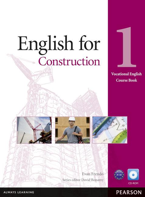 Vocational English Level 1 (Elementary) English for Construction Coursebook and CD-ROM Pack