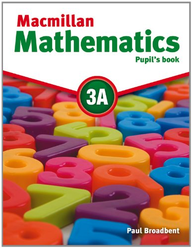Macmillan Mathematics 3A Pupil's Book Pack