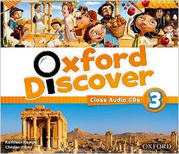 Oxford Discover 3  Class Audio CDs