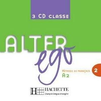 Alter Ego 2 - CD audio classe (x3) (Лицензия)