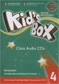 Kid's Box Updated edition 4 Class Audio CDs (3)