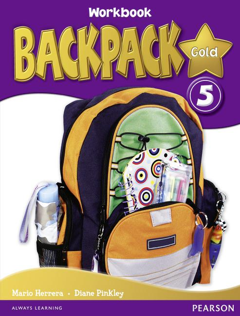 Backpack Gold Level 5 Workbook (with Audio CD)
