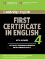 Cambridge First Certificate in English 4 for updated exam
