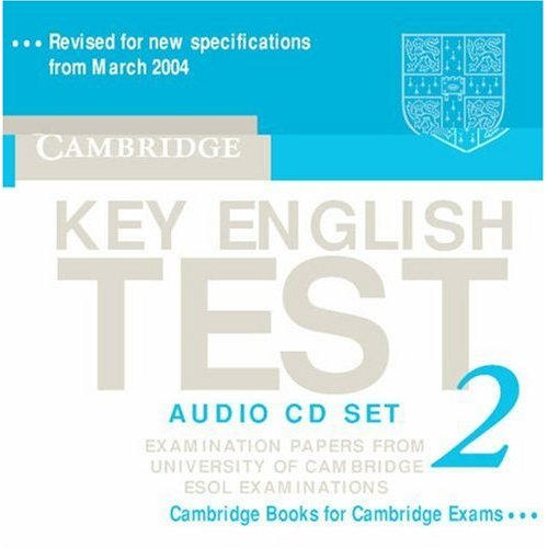 Cambridge Key English Test 2 Audio CDs (2)
