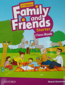 Family and Friends Second Edition Starter Class Book with Student's Site