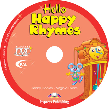 Hello Happy Rhymes DVD Video PAL