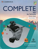 Complete Key for Schools 2nd Edition Teacher's Book with Downloadable Class Audio and Teacher's Photocopiable Worksheets