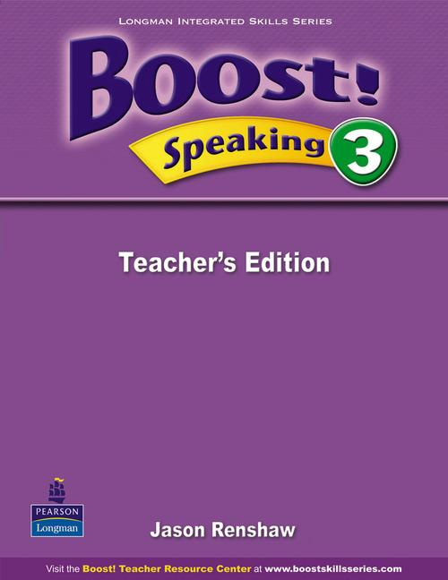 Boost Speaking 3 Teacher's Edition
