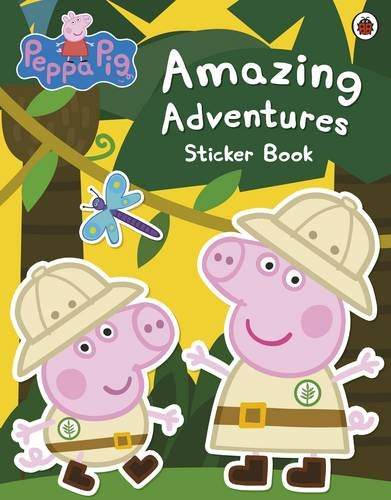 Ladybird: Peppa Pig. Amazing Adventures Sticker Book