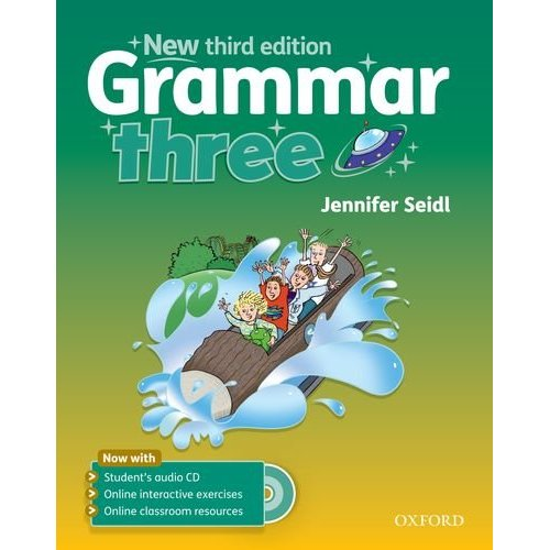 Grammar (Third Edition) Three Student's Book with Audio CD