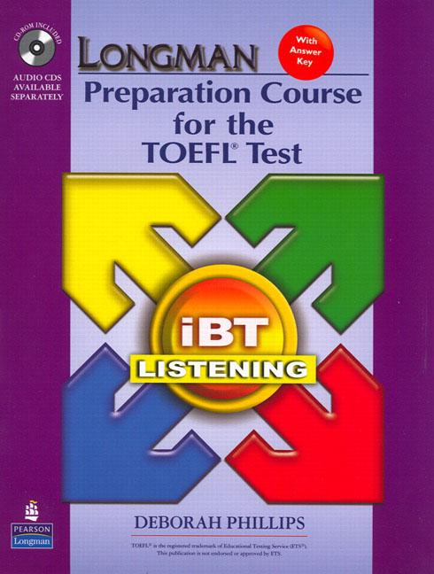 Longman Preparation Course for the TOEFL® Test : ibT (2nd Edition) Listening Package (Book with CD-ROM & Audio CDs)