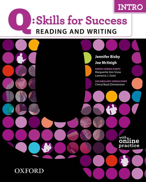 Q: Skills for Success Reading and Writing Intro Student Book with Online Practice