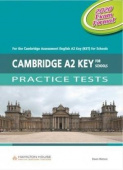 Practice Tests for KET 2020: Teacher's book