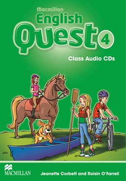Macmillan English Quest Level 4 Class Audio CD