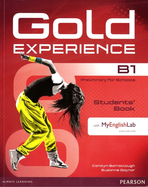 Gold Experience B1 Students' Book with DVD-ROM and MyEnglishLab