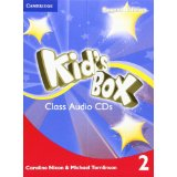 Kid's Box Second Edition 2 Class Audio CDs (4) (Лицензия)