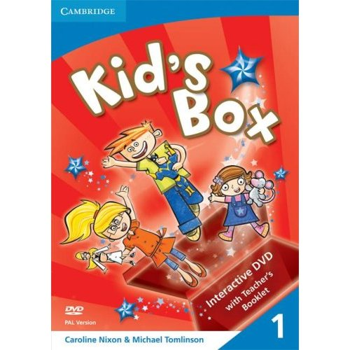 Kid's Box Level 1 Interactive DVD PAL with Teacher's Booklet
