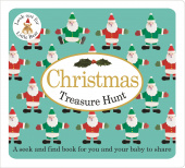 Priddy Roger. Christmas Treasure Hunt (board book)