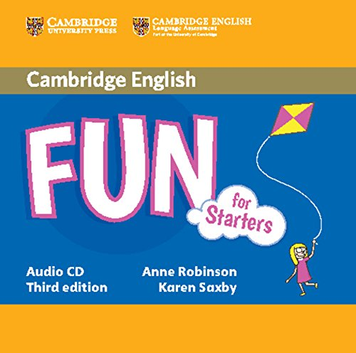 Fun for Starters, Movers and Flyers 3rd Edition Starters Audio CD (Лицензия)