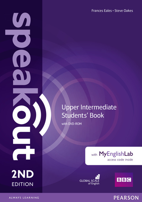 Speakout Second Edition Upper Intermediate Students' Book with DVD & MyEnglishLab