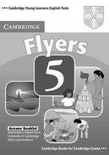 Cambridge Young Learners English Tests Flyers 5 Answer Booklet