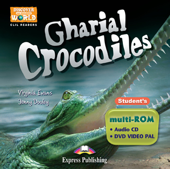 Gharial Crocodiles Student's multi-ROM (Audio CD / DVD Video PAL)