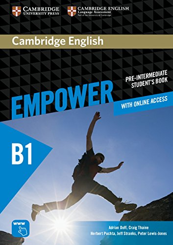 Cambridge English Empower Pre-Intermediate Student's Book with Online Assessment and Practice, and O