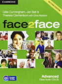 face2face 2nd Edition Advanced Class Audio CDs (3)