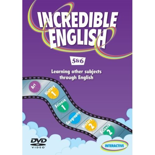 Incredible English 5 & 6 DVD