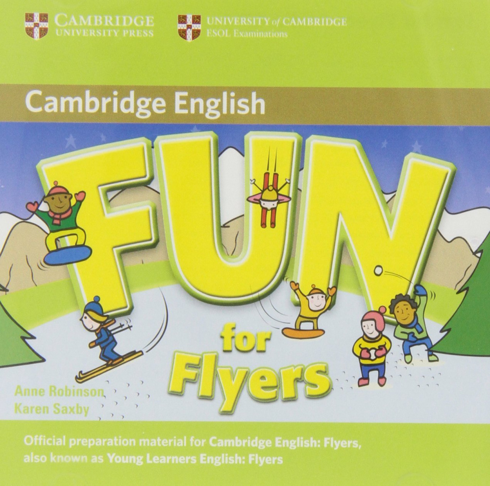 Fun for Starters, Movers and Flyers 2nd Edition Flyers Audio CD (2) (Лицензия)