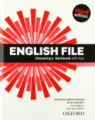 English File Third Edition Elementary Workbook with key and Student's Site